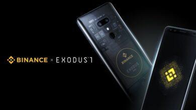 Фото Смартфон HTC Exodus 1 Binance Edition обойдётся в $599