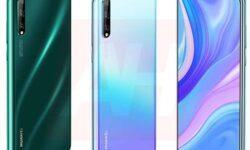 Смартфоны Huawei P Smart 2020 и Nova 6 предстали на рендерах