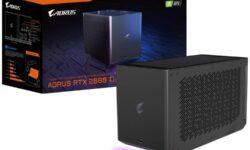 Внешний ускоритель Gigabyte Aorus RTX 2080 Ti Gaming Box оценён в $1500