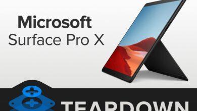 Фото Вскрытие Microsoft Surface Pro X: планшет удивил ремонтопригодностью