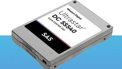 Фото Western DigitalUltrastar DC SS540 — SAS-3 SSD для ЦОД