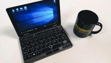 Фото CHUWI MiniBook — миниатюрный ноутбук-трансформер c процессором Intel