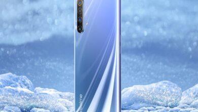 Фото Флагманский смартфон Realme X50 5G показался на официальном изображении