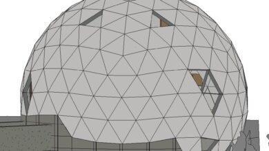 Фото Геодезический купол. Об устройстве и моем опыте расчетов
