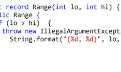 Исследуем записи в Java 14