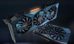 Квартет видеокарт GIGABYTE Radeon RX 5500 XT с кулером WindForce