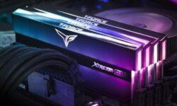 Модули памяти Team Group T-Force Xtreem ARGB получили зеркальный дизайн