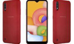 Начальный уровень: представлен смартфон Samsung Galaxy A01