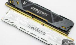 Новая статья: Обзор комплектов памяти Crucial Ballistix Sport AT и Sport LT White DDR4-3200 2×8 Гбайт: Micron против Samsung