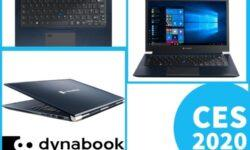 Премиум-ноутбуки Dynabook X-Series с экраном IGZO дебютируют на выставке CES 2020