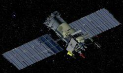 Российский метеоспутник столкнулся с микрометеоритом