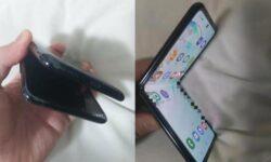 В Сети появились первые фотографии изгибаемой «раскладушки» Samsung Galaxy Fold 2