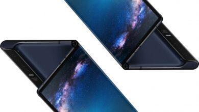 Фото В Сети появилось видео гибкого телефона Huawei Mate X с поломанным экраном