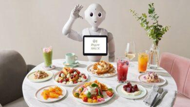 Фото В Токио открыли кафе, где трудятся роботы Pepper и обычные официанты