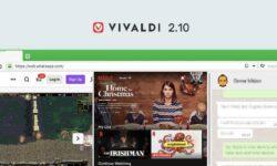 Vivaldi 2.10 — Агент под прикрытием