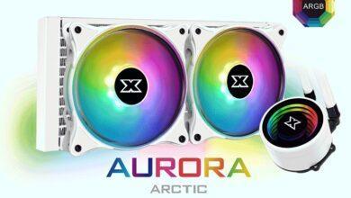 Фото Xigmatek Aurora Arctic 240: «зимняя» СЖО с многоцветной подсветкой