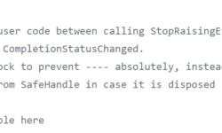 Цензура в исходном коде .NET Framework