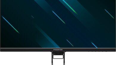 Фото CES 2020: игровой монитор Acer Predator X32 обладает пиковой яркостью 1440 кд/м2