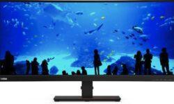 CES 2020: ThinkVision T34w-20 — 34-дюймовый сверхширокоформатный изогнутый монитор за $800