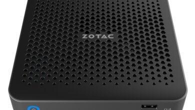 Фото CES 2020: толщина мини-компьютеров Zotac ZBOX Edge составляет 25 мм