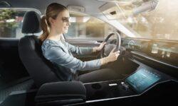 CES 2020: в Bosch придумали виртуальный солнцезащитный козырёк для автомобилей