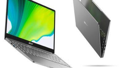 Фото CES 2020: в серию Acer Swift 3 вошли ноутбуки на процессорах AMD и Intel