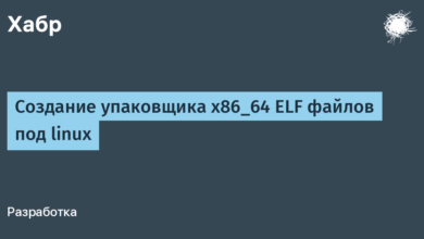 Фото [Из песочницы] Создание упаковщика x86_64 ELF файлов под linux