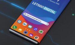 LG придумала смартфон с гибким дисплеем-обложкой