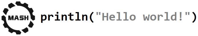 Mash — язык программирования, компилирует сам себя