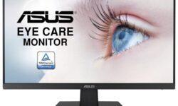 Монитор с узкими рамками ASUS VA27EHEY Eye Care имеет диагональ 27 дюймов