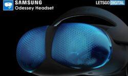 Новый шлем смешанной реальности Samsung Odyssey предстал на рендерах