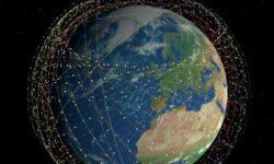 Отложен запуск очередной партии из 60 микроспутников SpaceX Starlink