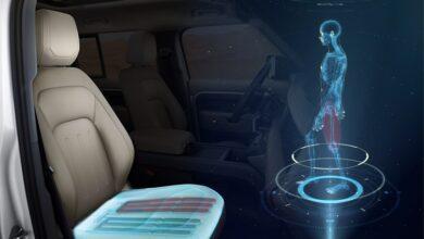 Фото Передовое автокресло Jaguar Land Rover улучшит самочувствие водителя и пассажиров