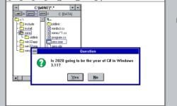 [Перевод] Если .NET работает везде, то на Windows 3.11 и DOS тоже