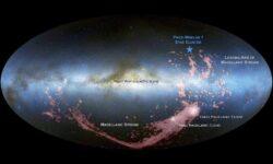 [Перевод] Грядущее галактическое столкновение Млечного Пути уже рождает новые звезды