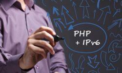 Работа с IPv6 в PHP
