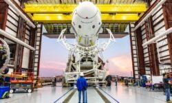 SpaceX протестирует систему спасения астронавтов корабля Crew Dragon 18 января