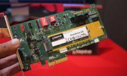 SSD-накопители Kingston Grandview получат интерфейс PCIe 4.0