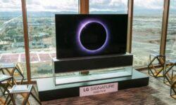 Сворачиваемый телевизор LG Signature OLED TV R обойдётся в $60 000