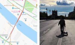 99 смартфонов и тележка создали пробку на дорогах Берлина