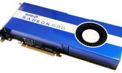 AMD готовит Radeon Pro W5500 — профессиональную версию Radeon RX 5500 XT