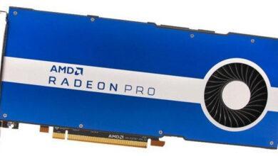Фото AMD представила Radeon Pro W5500: профессиональная Navi среднего уровня