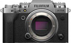 Беззеркалка Fujifilm X-T4 получила встроенную стабилизацию и стала автономнее