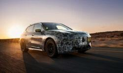 BMW тестирует электромобиль iNEXT в жарких погодных условиях Африки
