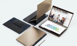 Compal Envision Lite: необычный гибридный ноутбук с двумя дисплеями