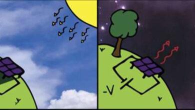 Фото Для выработки электричества по ночам предложены «антисолнечные» батареи