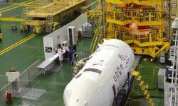 Фото дня: пилотируемый корабль «Союз МС-16» готовится к запуску