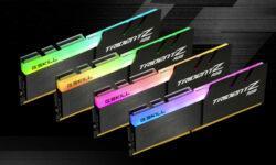 G.Skill выпустила комплект памяти Trident-Z Neo DDR4-3600 объёмом 256 Гбайт для Threadripper