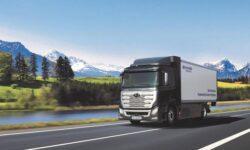 Грузовики Hyundai с водородным двигателем появятся на дорогах Швейцарии