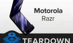 iFixit: гибкий смартфон Motorola razr почти невозможно починить